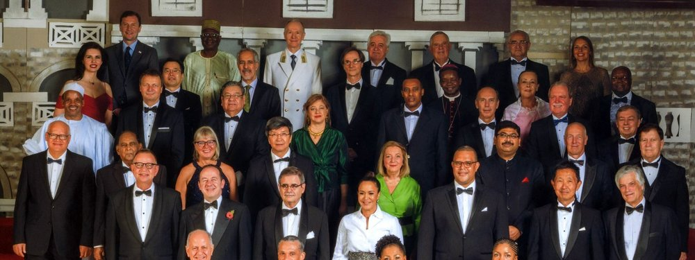 French Ambassador attends annual diplomatic dinner hosted by the President (...)