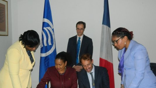 Cooperation Protocol signed between the BRGM and the ACS